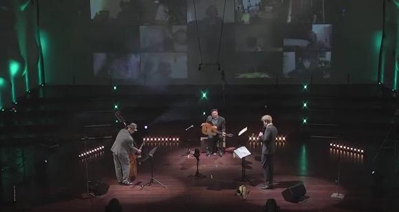 Trio - Yenz Saleh & Viktor Wolf im Nikolaisaal Potsdam